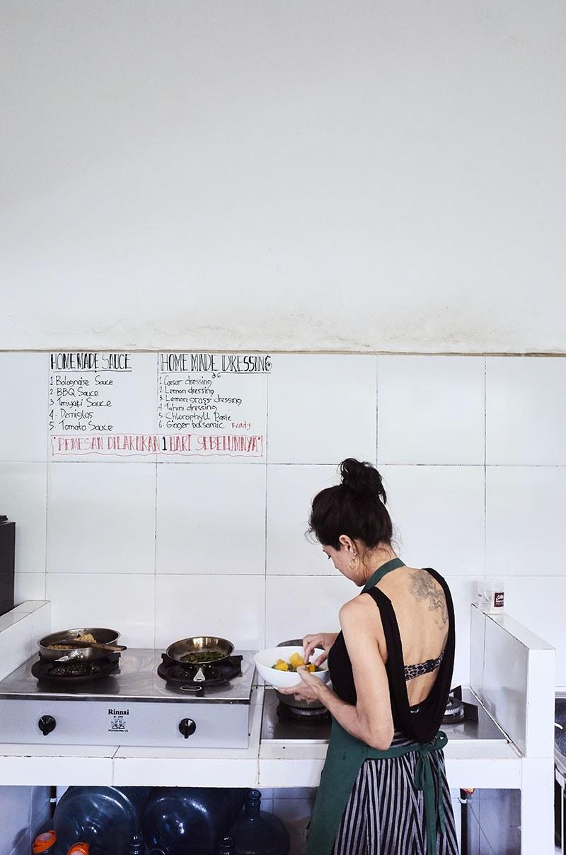Vanja indorock cooking kitchen