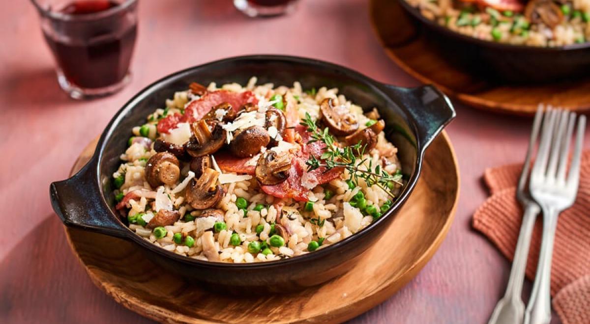 7 inspirerende risotto gerechten op een rijtje