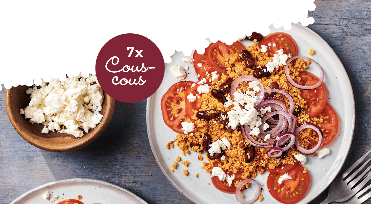 Couscous met groente (7 heerlijke recepten)