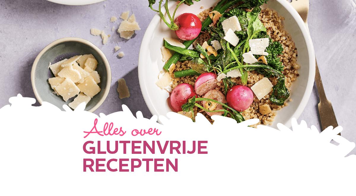 Onze favoriete glutenvrije recepten voor je diner