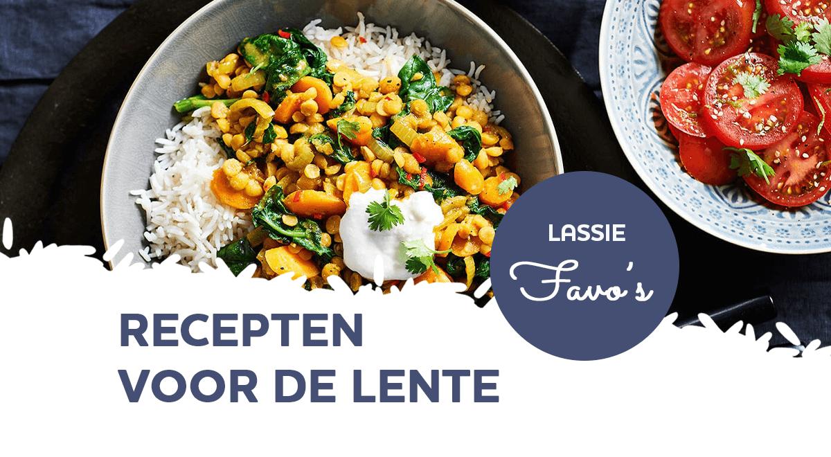 Lassie Favo's: 7 lekkere lente gerechten voor 2021