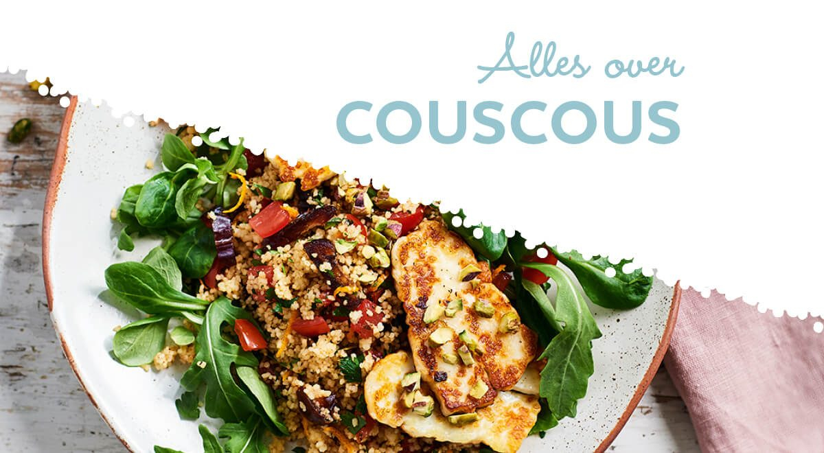 Couscous maken is super simpel met Lassie