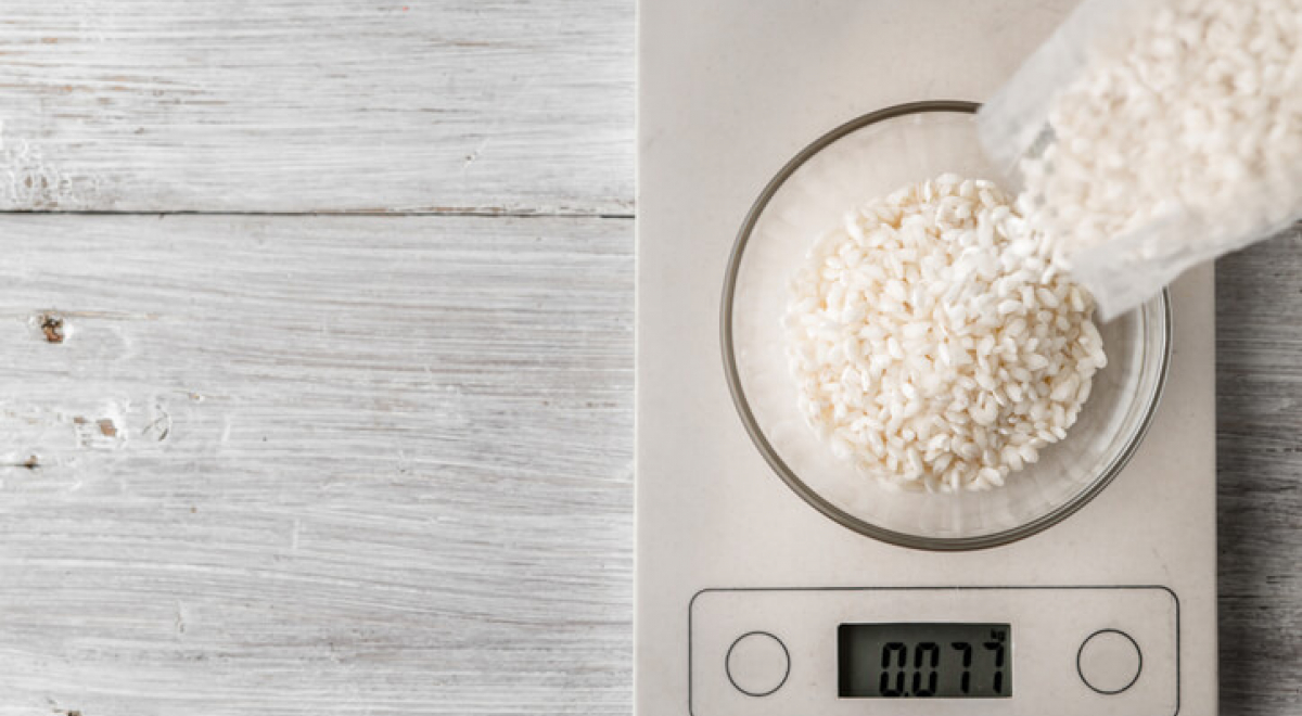 Hoeveel gram rijst per persoon heb je nodig?