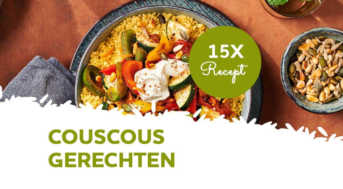 Inspiratie: 15 couscous gerechten voor het avondeten