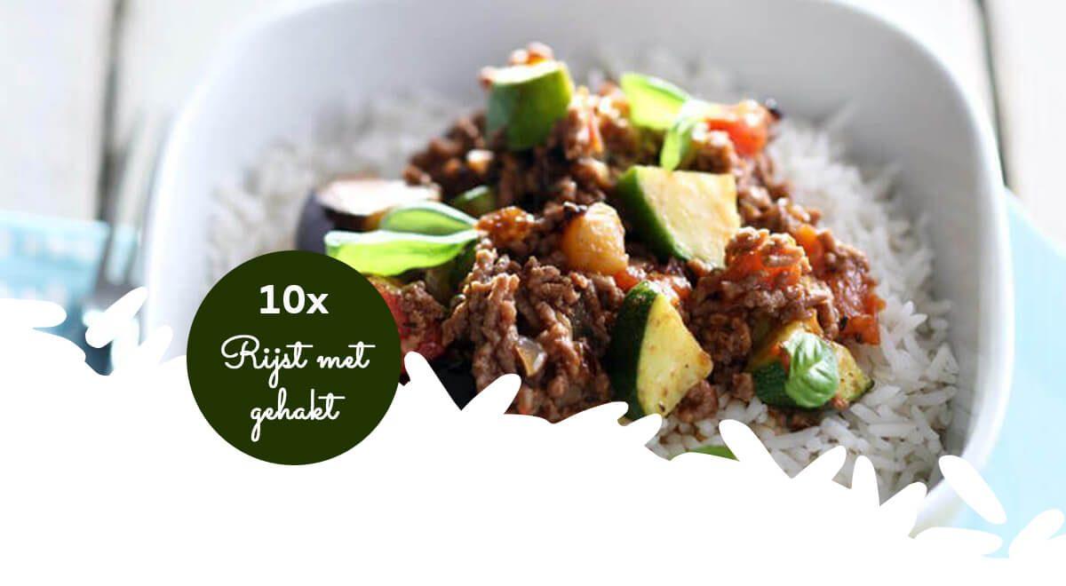 Woensdag gehaktdag: 10x inspiratie voor rijst met gehakt