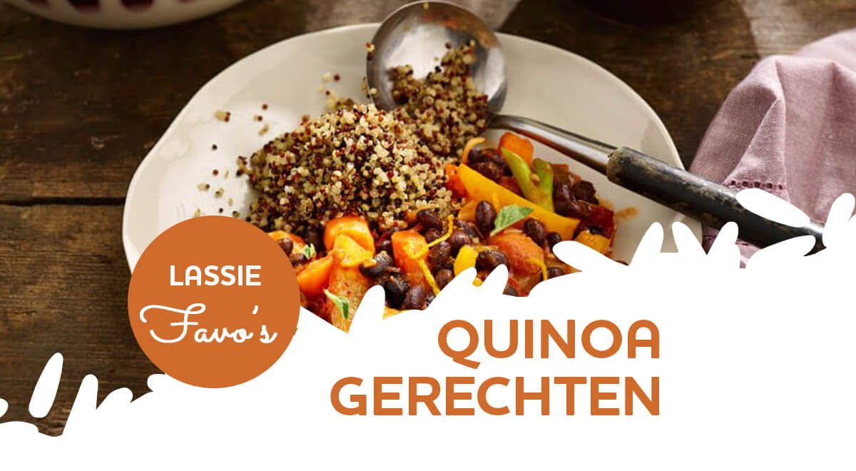 Lassie Favo's: 15x lekkere quinoa gerechten
