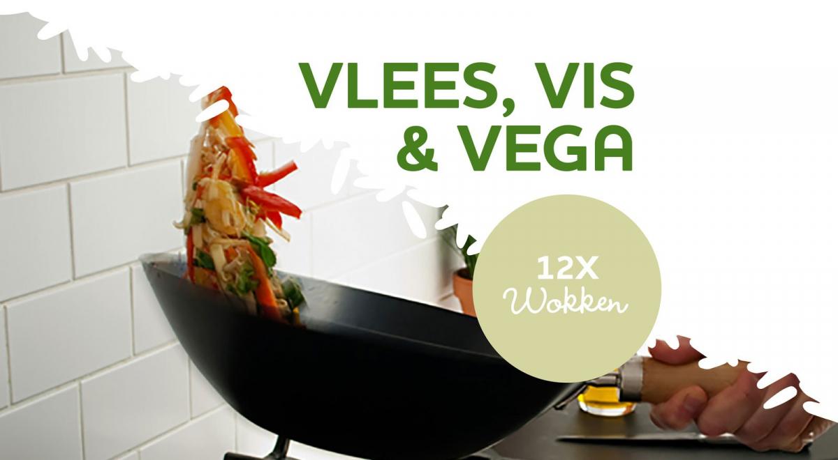 12x lekkere wokgerechten met rijst - Vlees, vis & vegetarisch!