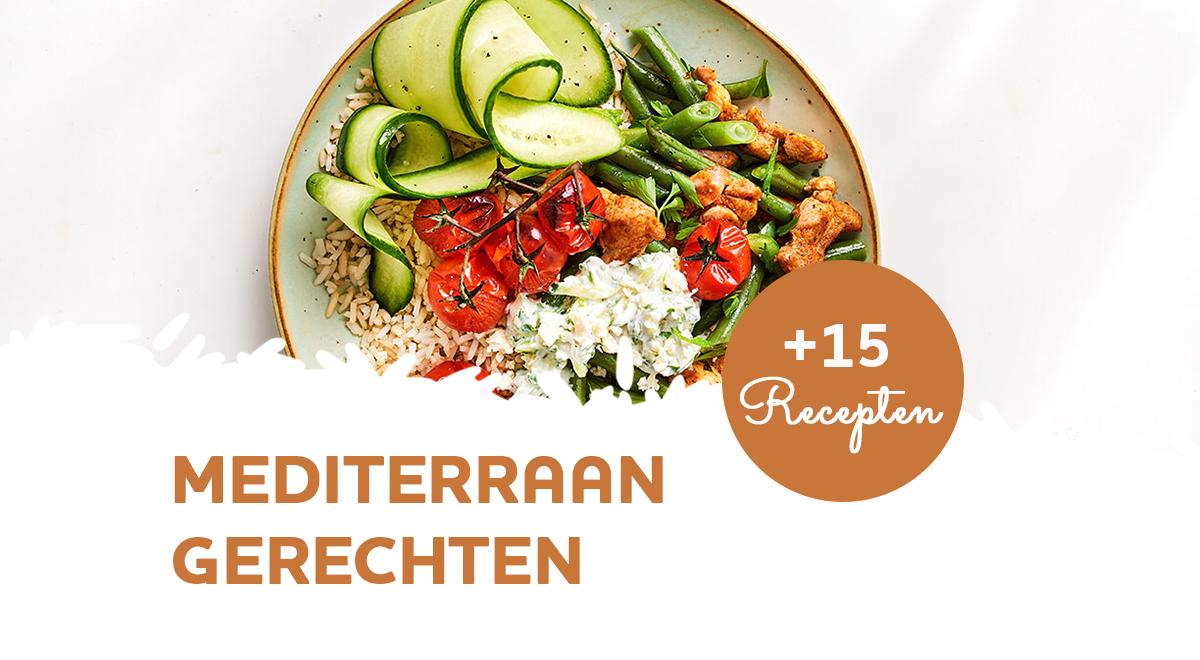 Mediterraan eten: 15 makkelijke recepten