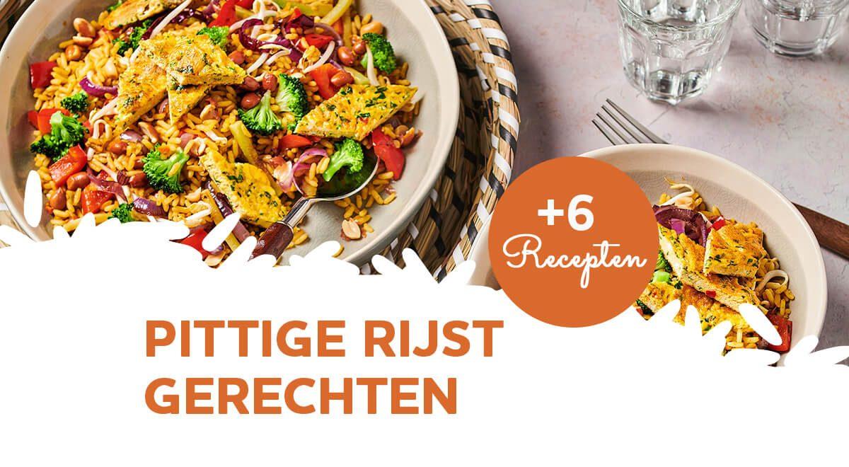 Lekker pikant: 6 spannende gerechten met pittige rijst