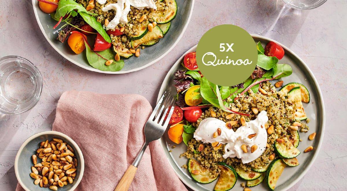 8x de lekkerste quinoa salade van Lassie