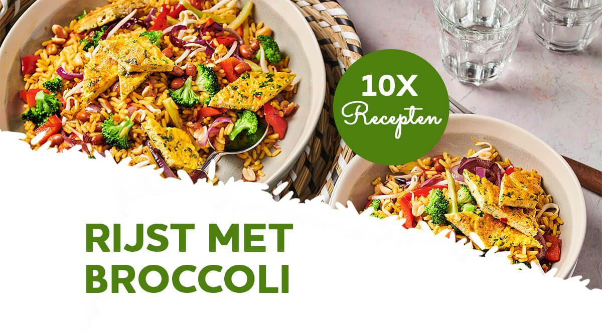 Top 10 recepten voor rijst met broccoli