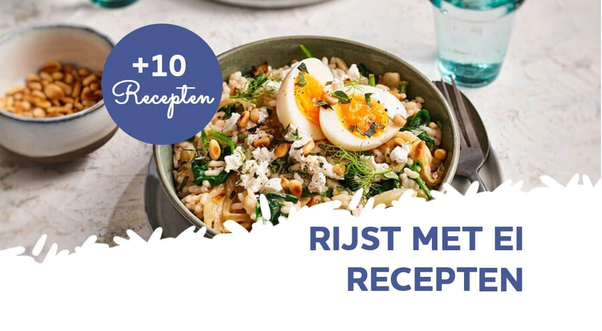 Rijst met ei (10 recepten)