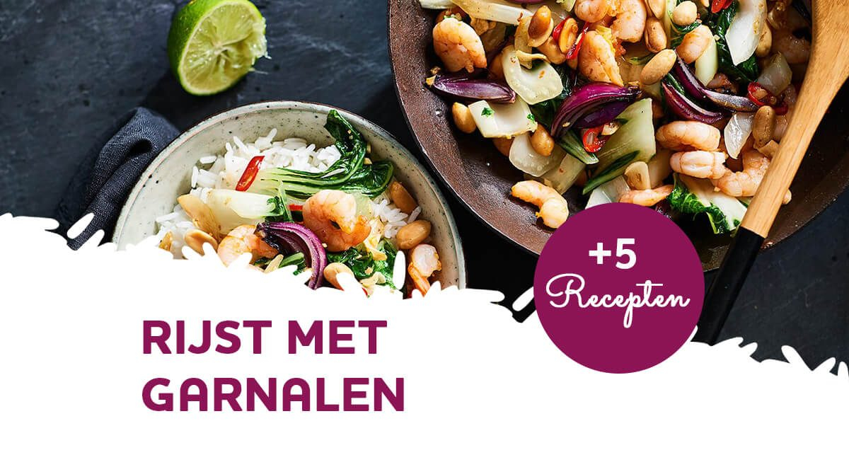 Inspiratie: 5 populaire recepten voor rijst met garnalen