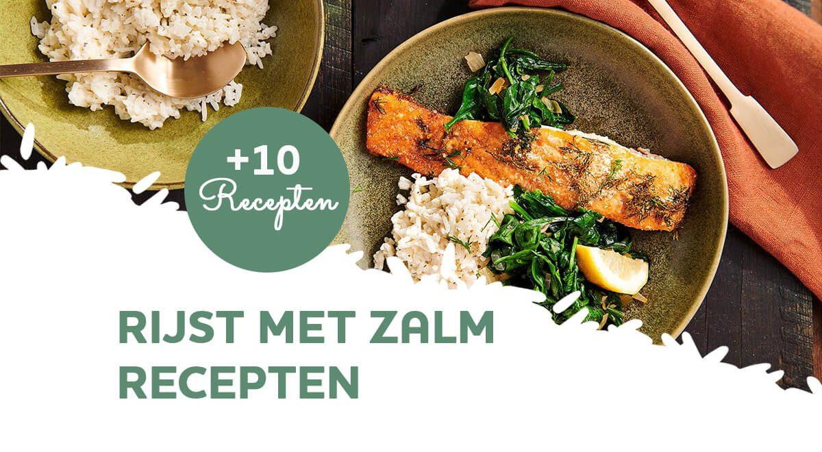 Recepten voor rijst met zalm