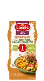 Minuutje Zilvervliesrijst + Quinoa én 4 granen