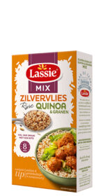 Zilvervliesrijst + Quinoa én granen