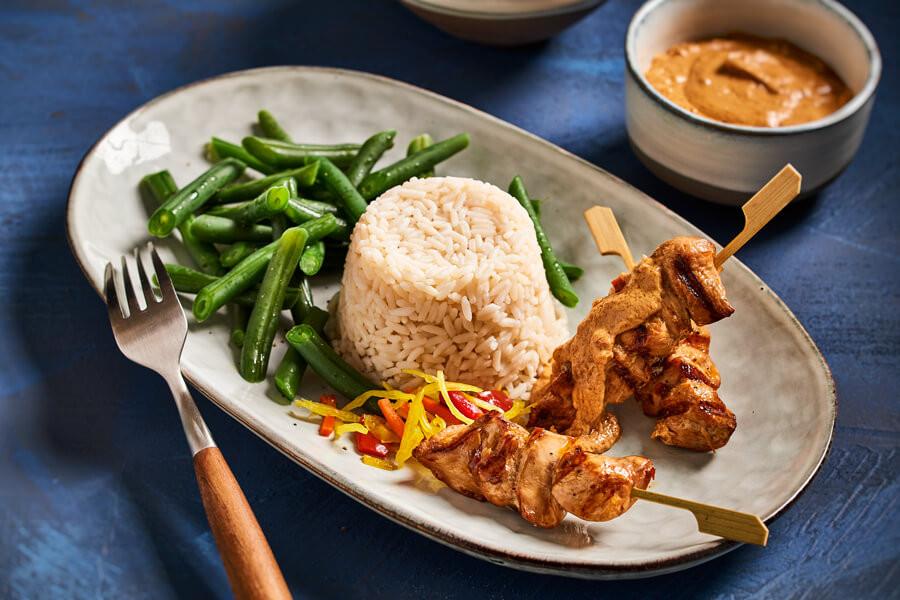 Rijst met kip 1