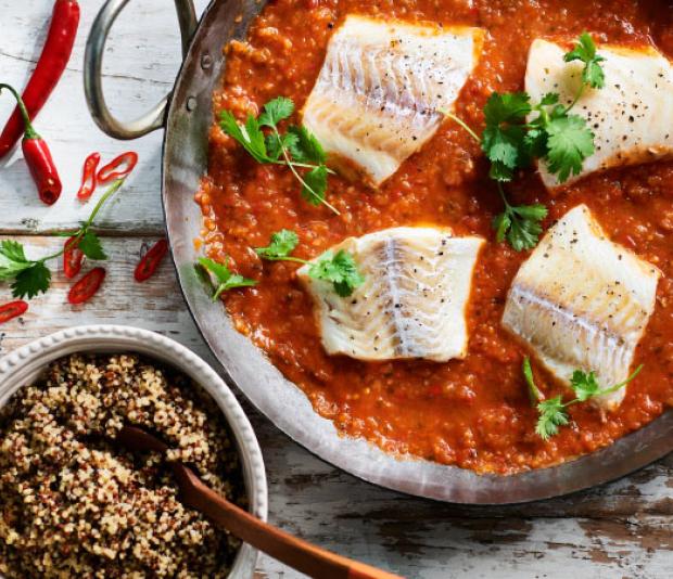 Kleurige quinoa