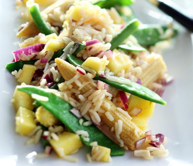 Pittige Thaise rijstsalade