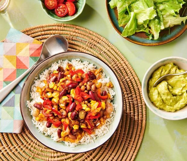Mexicaanse burritobowl