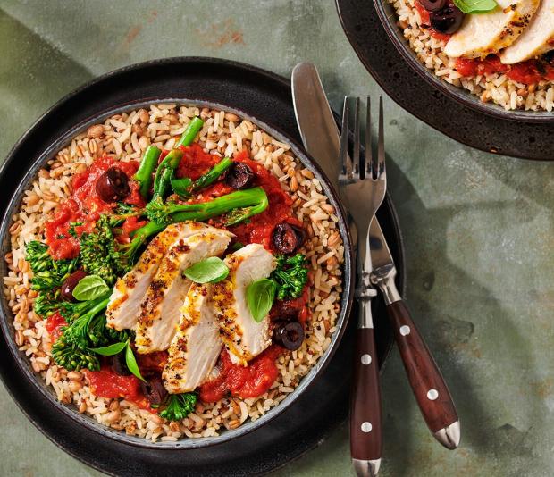 Zilvervliesrijst + Quinoa én Granen met Italiaanse