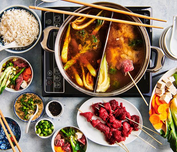 Pittige Sichuan hotpot
