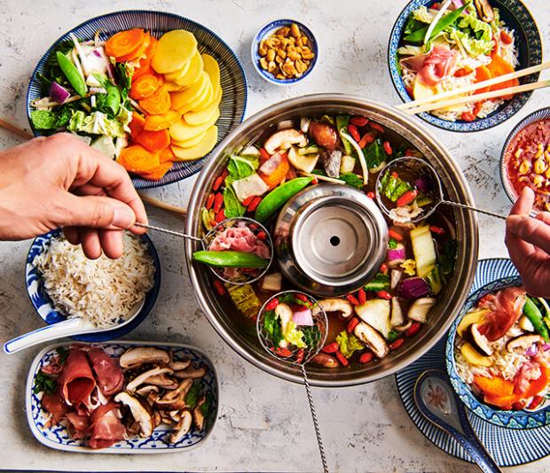 Eenvoudige Chinese Hotpot