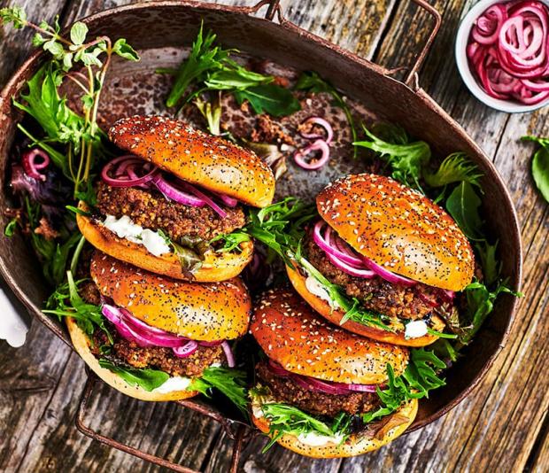 Quinoa-gehaktburger