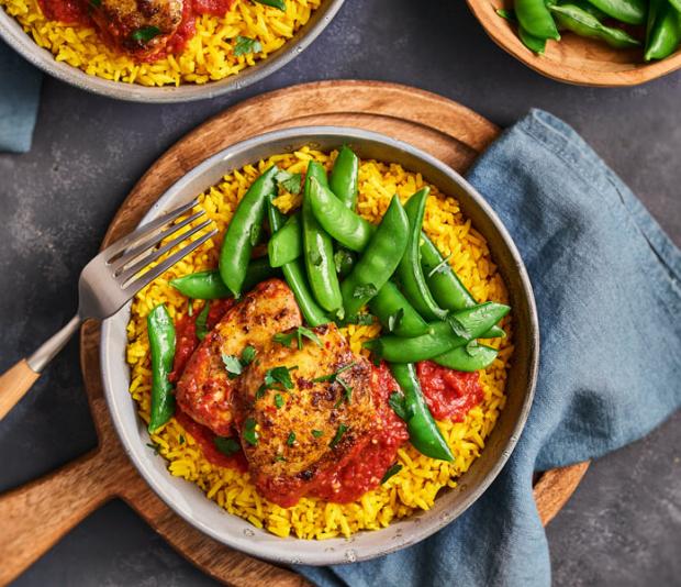 Gele rijst