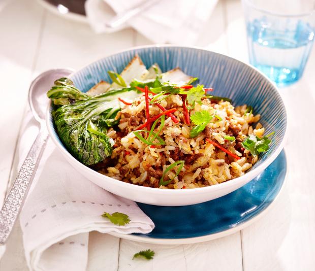 Pittige Thaise rijst