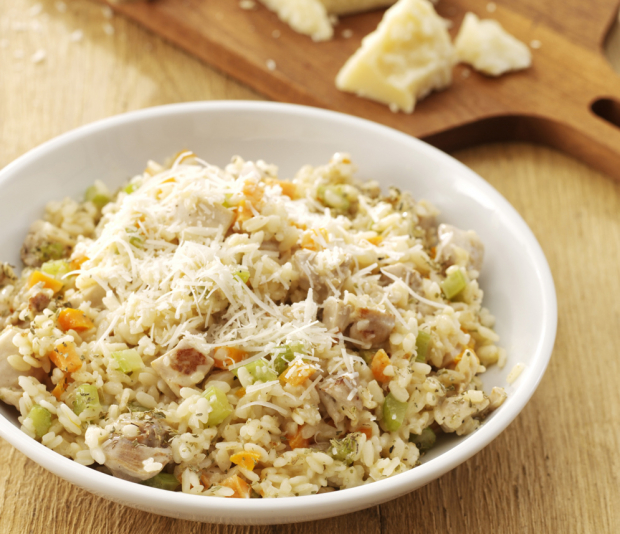 Romige risotto