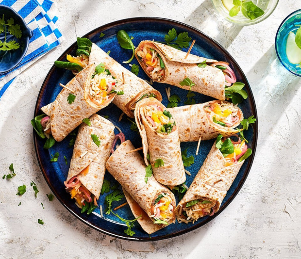 Spicy wraps gevuld