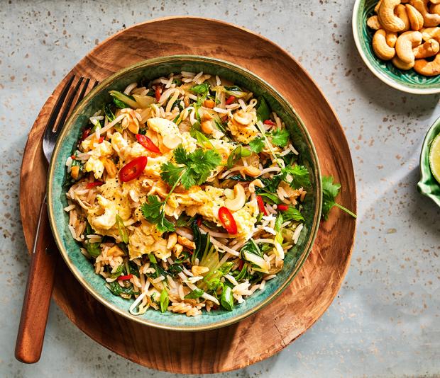 Pad Thai van rijst