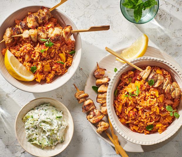 Griekse rijst met