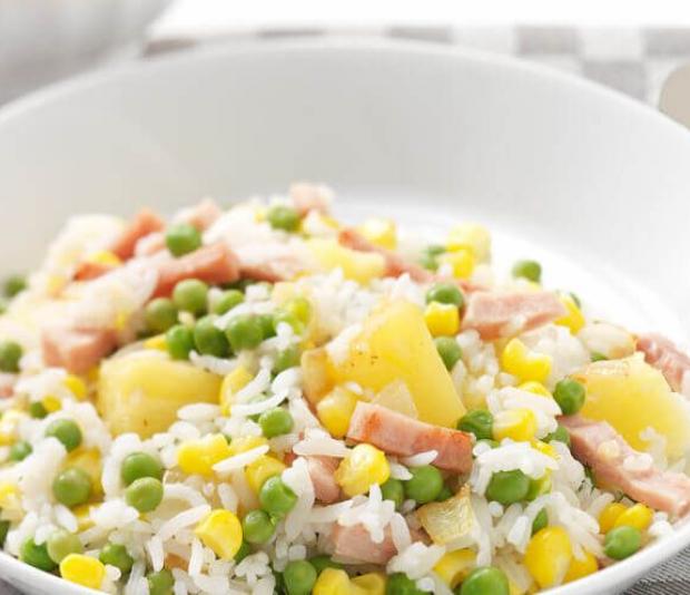 Kleurige rijst