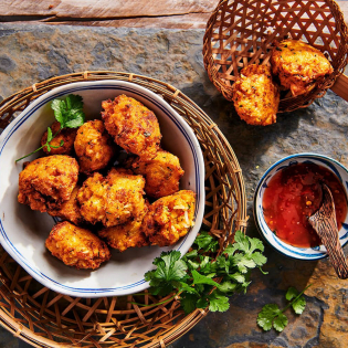 Thaise spicy 'toverkoekjes'
