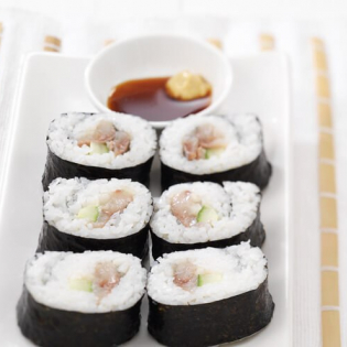 Hollandse sushi  met haring