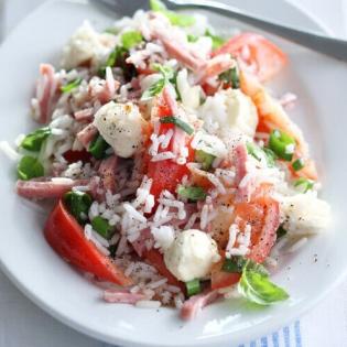 Italiaanse rijstsalade