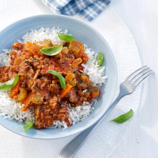 Rijst Bolognese