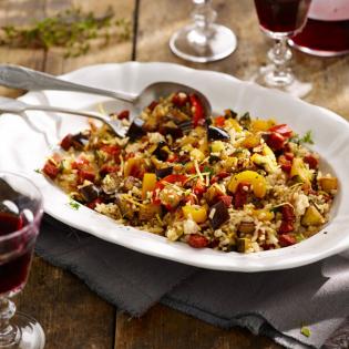 Spaanse rijstsalade